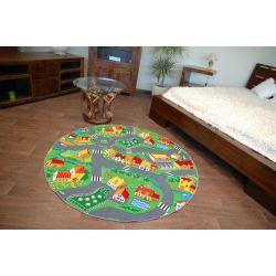 Little goliath gyermek szőnyeg kör - velúr