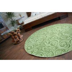 Covor rotund Topolino verde