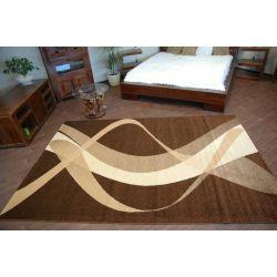 Teppich KARMEL BROWN braun