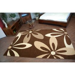 Carpet CARAMEL COCOA brown