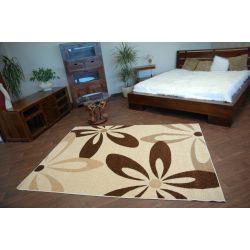 Teppich KARAMELL COCOA cremig