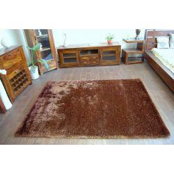Teppich SHAGGY RAINBOW braun
