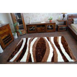 Teppich SHAGGY SYMFONIA 101 braun