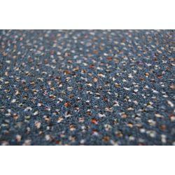 Wykładzina dywanowa WELUROWA TECHNO STAR 390 niebieski