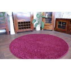 Carpet round SERENITY violet