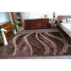 Shaggy szőnyeg mystery 118 barna