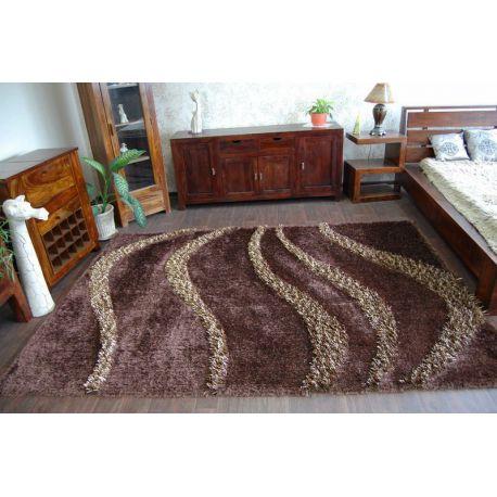 Teppich SHAGGY MYSTERY 118 braun