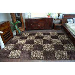Teppich SHAGGY MYSTERY 119 braun