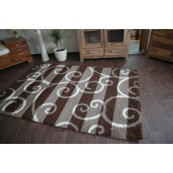 Carpet JAZZY FRANCO dark brown