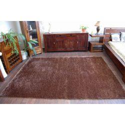 Teppich SHAGGY DUAL - DUO schokolade