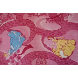 Carpet wall-to-wall DISNEY CELEBRATION pink