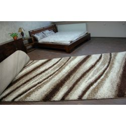 Carpet wall to wall SHAGGY 5cm design 2714 ivory light beige