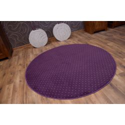 Carpet circle AKTUA 087 purple