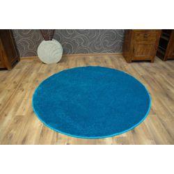 Carpet circle LAS VEGAS turquoise
