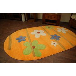 Teppich oval KASHMIR 044 orange