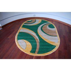 Rubikon szőnyeg ovális 8017 zöld