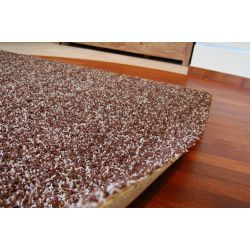Carpet SHAGGY 5cm MIX dark brown
