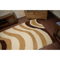 Carpet SHAGGY 5cm design 501 cream