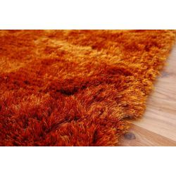 Carpet SHAGGY POLIESTER CUZCO rust