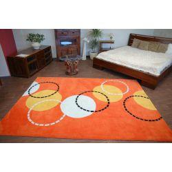 Covor Acril Fotbal portocale