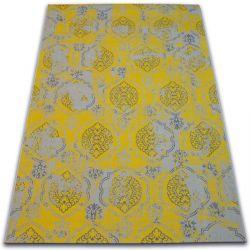 Tappeto Vintage 22213/275 giallo classico
