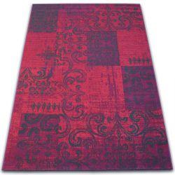 Dywan Vintage 22215/082 fuksja patchwork