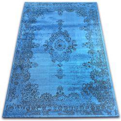 Teppich VINTAGE Rosette 22206/043 blau