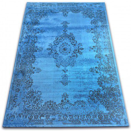 Dywan Vintage Rozeta 22206/043 niebieski