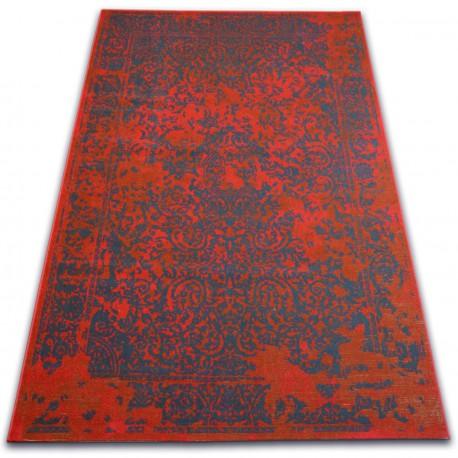 Килим VINTAGE 22208/021 червоний класична розетка