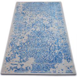Килим VINTAGE 22208/053 синій / сірий