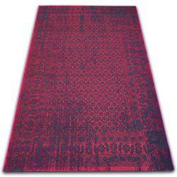 Teppich VINTAGE Blumen 22209/022 rotwein