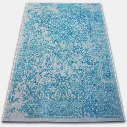 Carpet VINTAGE 22208/054 turquoise / cream