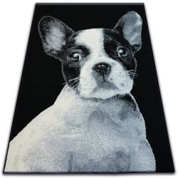 Tapis BCF FLASH 33327/190 - Bouledogue français
