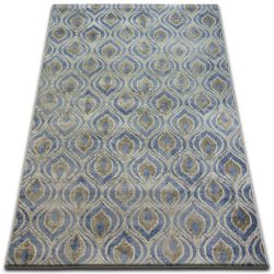Carpet DROP JASMINE 030 L.blue/Smoke