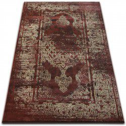 Teppich DROP JASMINE 456 Rost/Dunkelbeige