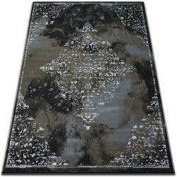 Килим VOGUE 478 чорний/коричневий