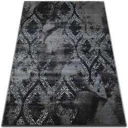 Килим VOGUE 093 чорний/коричневий