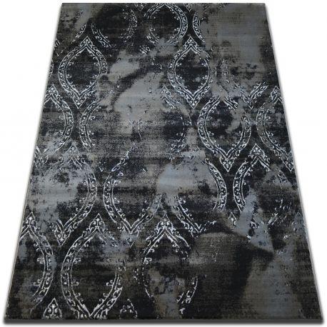 Ковер VOGUE 093 черный/коричневый