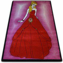 Teppich KIDS Prinzessin rosa C425