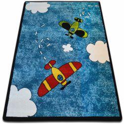 Carpet KIDS Planes blue C413