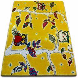 Teppich KIDS Wald gelb C427