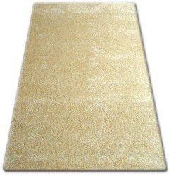Shaggy narin szőnyeg P901 fokhagyma arany