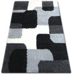 Килим SHAGGY ZENA 2526 чорний / сірий