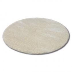 Alfombra círculo SHAGGY NARIN P901 crema