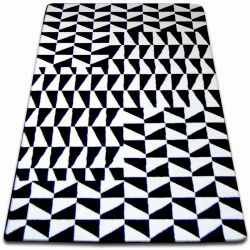 Carpet SKETCH - F765 white/black - chequered