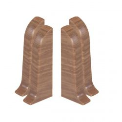 Baseboard End Caps PVC 2pcs. (L+R) SMART 108