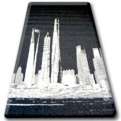 CARPET SIZAL FLOORLUX 20240 black / silver