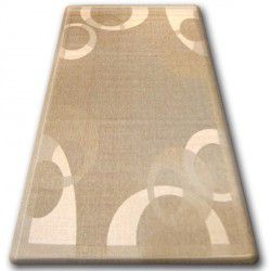 CARPET SISAL FLOORLUX 20078 coffee / mais