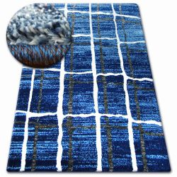 Tappeto SHADOW 9359 blu / bianco