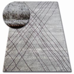 Alfombra SHADOW 9367 gris/lila